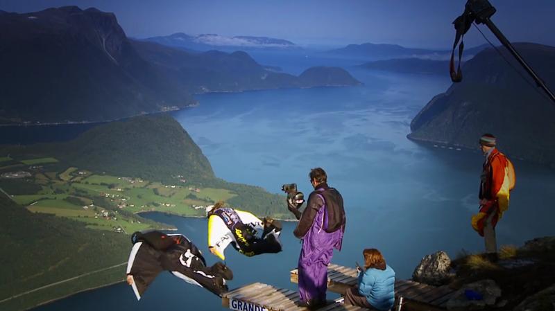 Норвегия - двойной прыжок