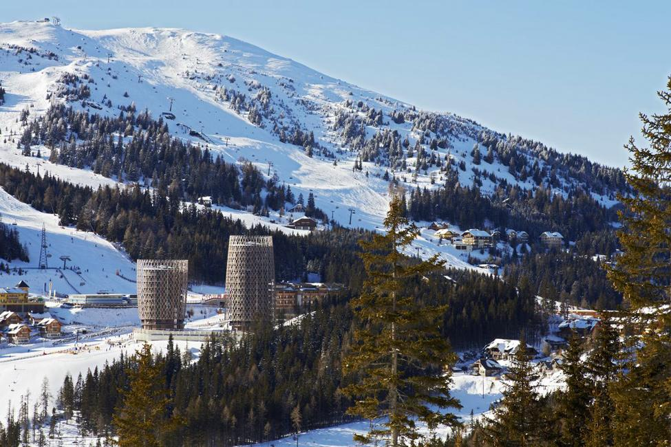 Квартирный комплекс в Альпах