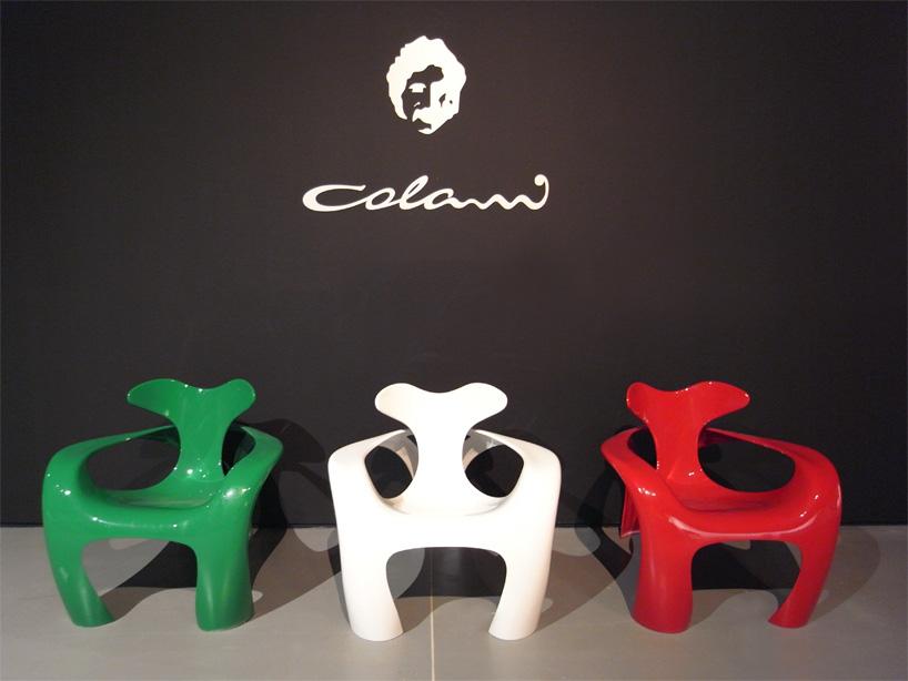 Биодизайн от Луиджи Колани - детские стульчики