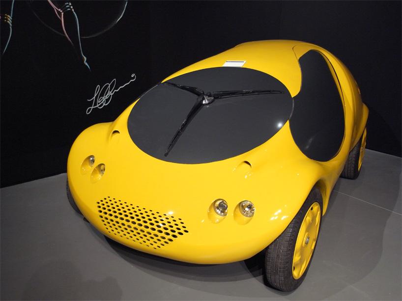 Биодизайн от Луиджи Колани - мини автомобиль