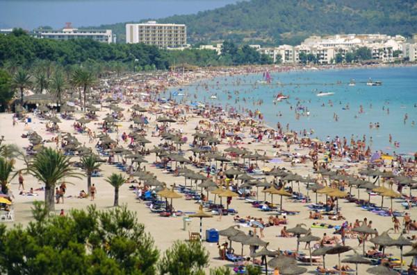 Увеличение числа русских туристов в Испании