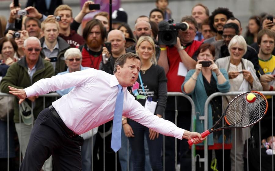 Партия в теннис премьер-министра Великобритании Дональда Кэмерона