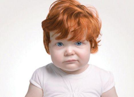фото детей рыжеволосых