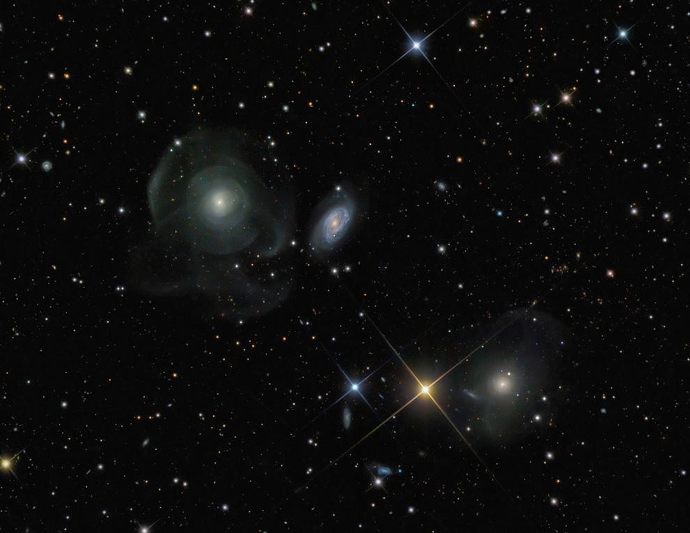 Три Галактики из Созвездия Рыб - 1-е место в номинации