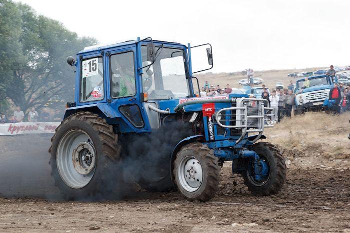 Международные соревнования трактористов в Крыму