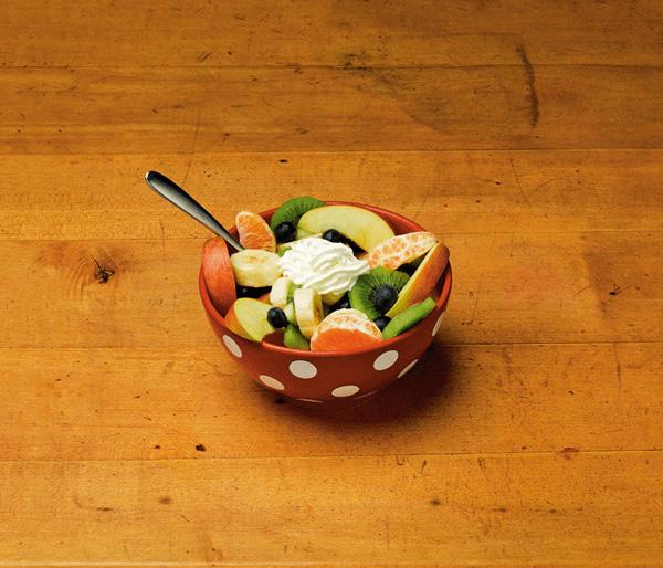 Неправильный фруктовый салат