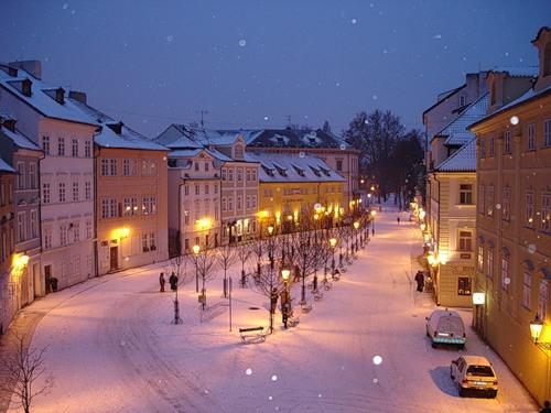Рождественская Прага, остров Кампа