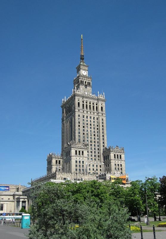 """""""Часы Тысячелетия"""", Варшава, Польша"""