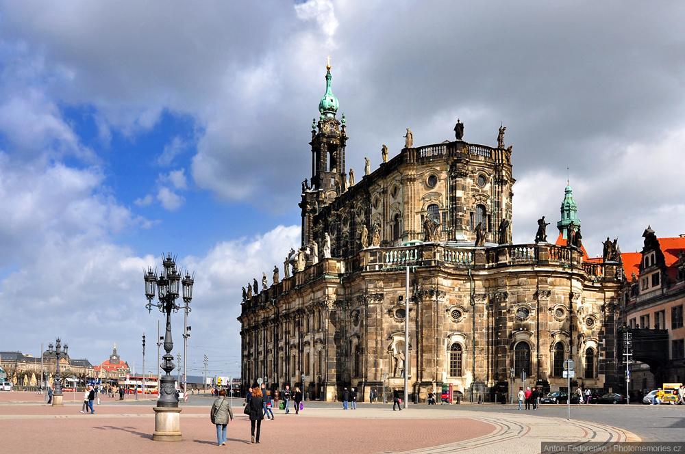 Кафедральный собор в Дрездене