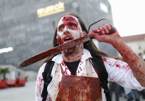 По улицам Вены прошлись зомби
