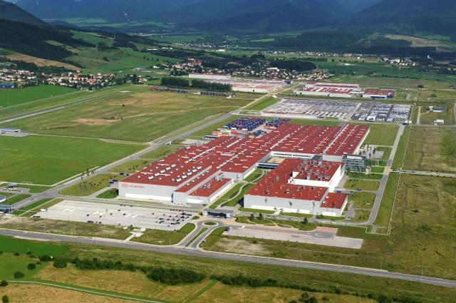 Завод Kia в Словакии