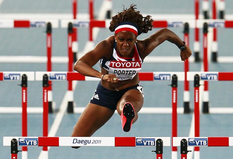 Тиффани Портер (бег с барьерами) - десятое место, Великобритания