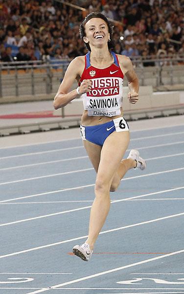 Мария Савинова (бег)- лучшая легкоатлетка Европы 2011