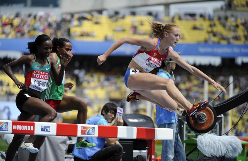 Юлия Зарипова (бег с препятствиями) - шестое место, Россия