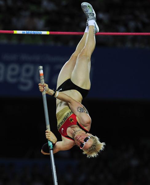 Мартина Штрутц (прыжки с шестом) - седьмое место, Германия