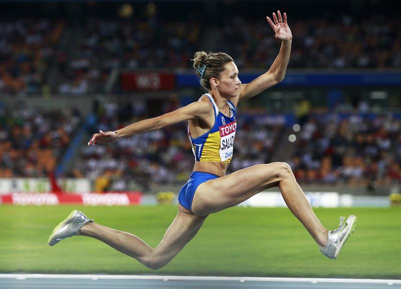 Ольга Саладуха (тройной прыжок) - восьмое место, Украина
