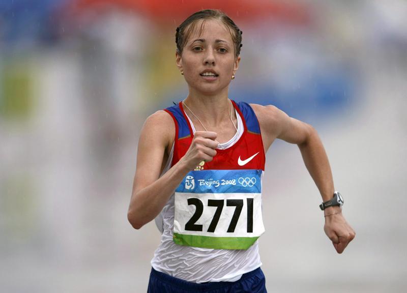 Ольга Каниськина (спортивная ходьба) - девятое место, Россия