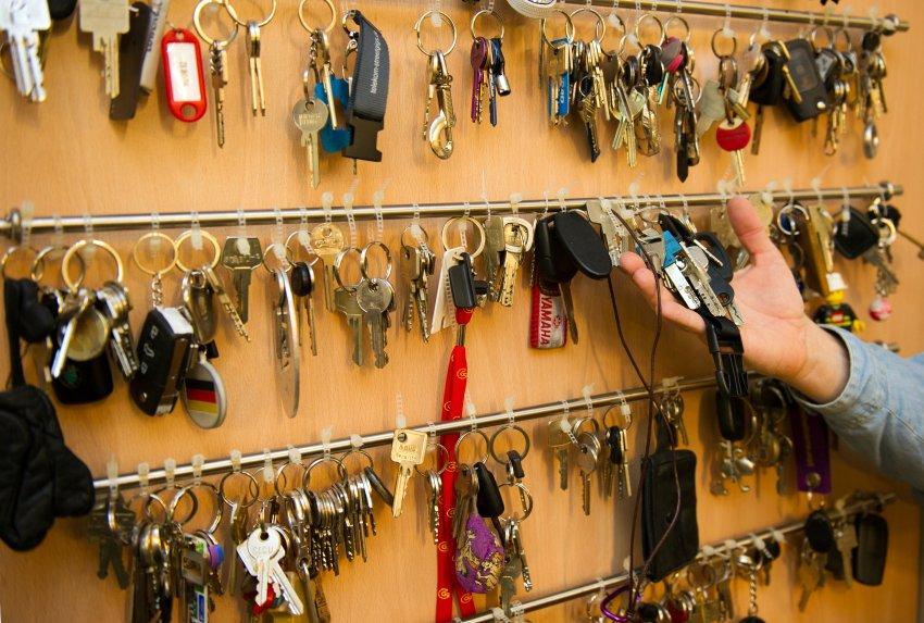 Коллекция найденных ключей