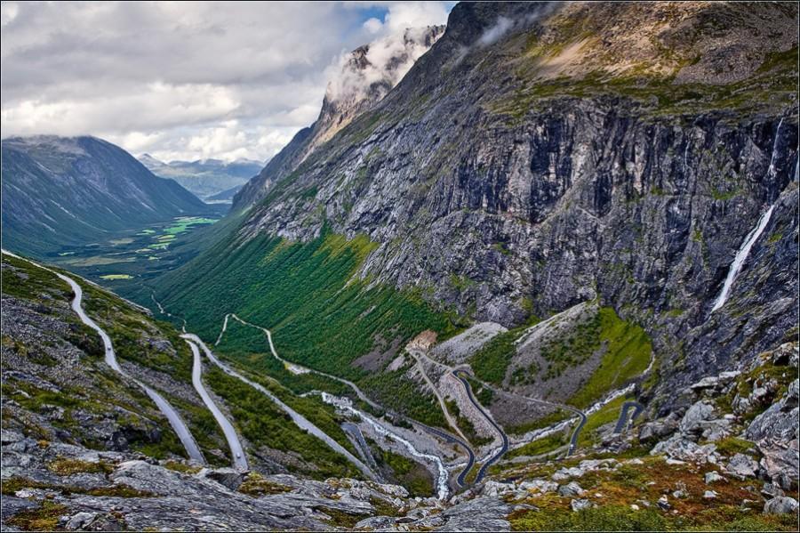 Trollstigen - Норвегия