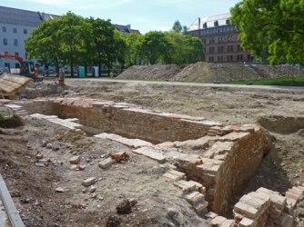 Исторические раскопки в Мюнхене