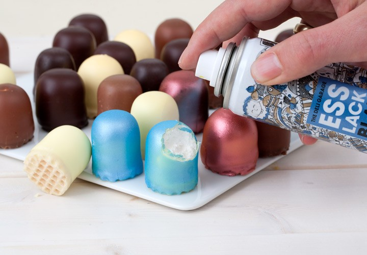 Пищевая краска Esslack, без вкуса и запаха, аэрозоль по 100 мл