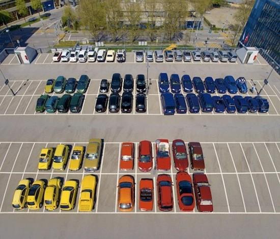 Парковка, в которой нет места хаосу!