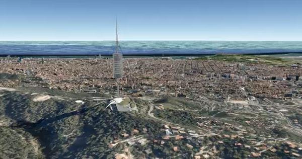 Виртуальное путешествие по Барселоне