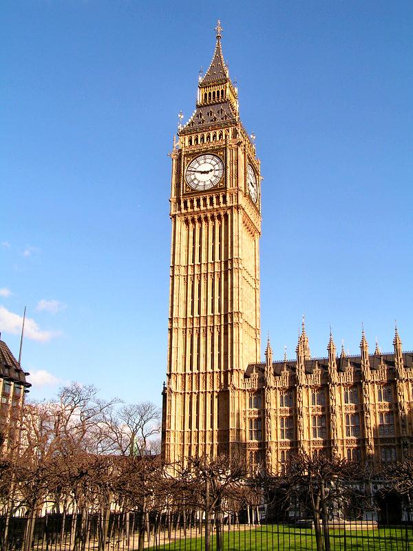 """""""Биг Бен"""", Лондон, Великобритания"""