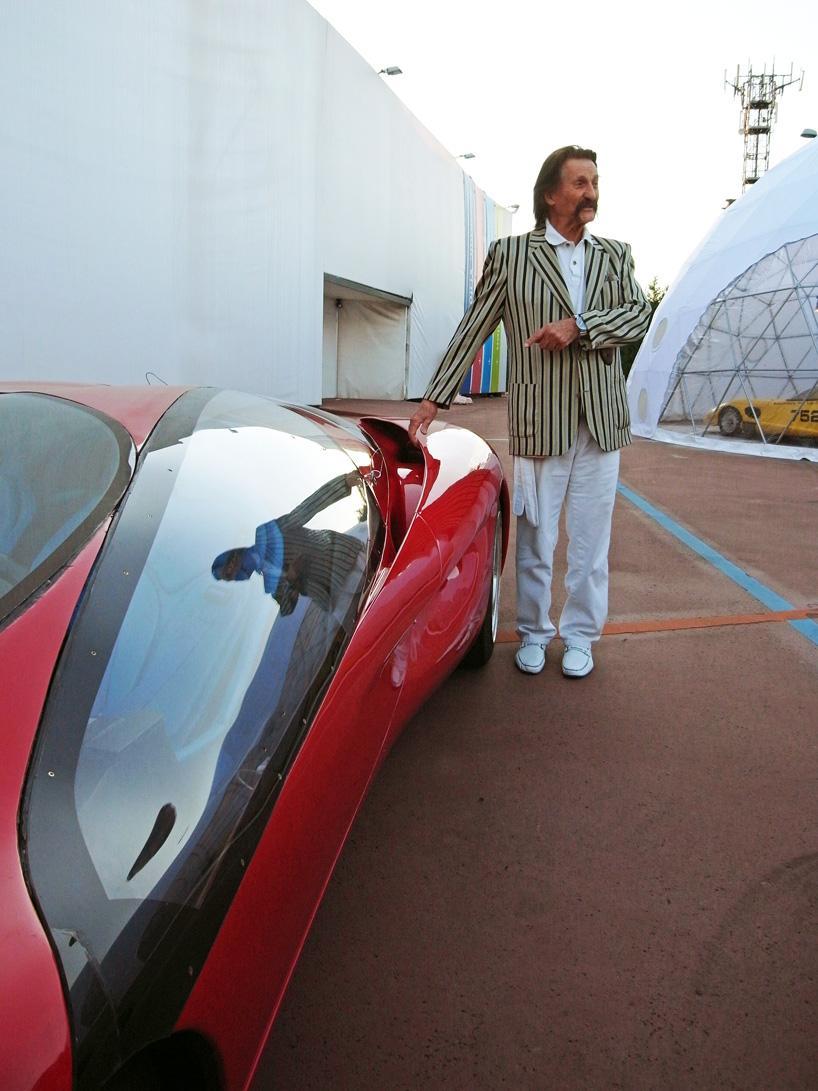 Луиджи Колани собственной персоной и Ferrari Testa d'Oro