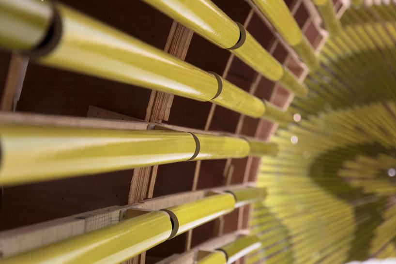 Плитка в виде керамических трубочек для изобретательных дизайнеров