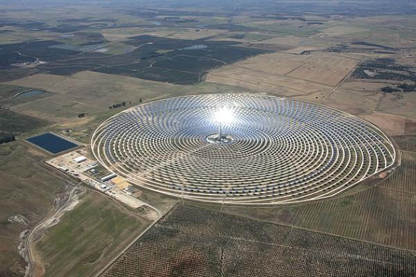 Gemasolar частная солнечная энергетика Испании Европа