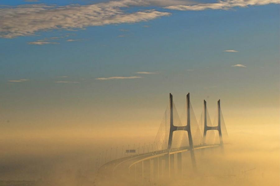 """Самый длинный мост Европы - """"Васко да Гама"""""""
