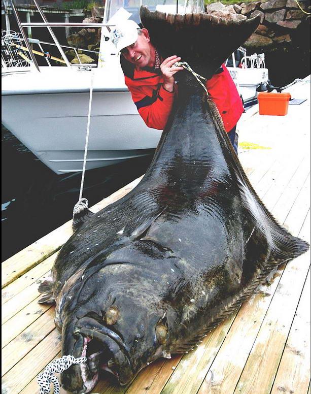 Счастливый рыбак со своим уловом