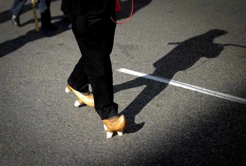 Традиционная обувь испанского пастуха