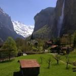 Долина Lauterbrunnen, которой грозит затопление