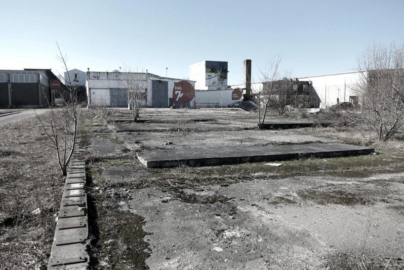 Вот так выглядит территория бывшего завода, на которой и будет располагаться новый Музей рока