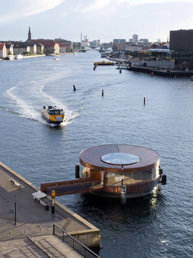 Павильон-пристань Национального Оперного Театра Копенгагена, Дания