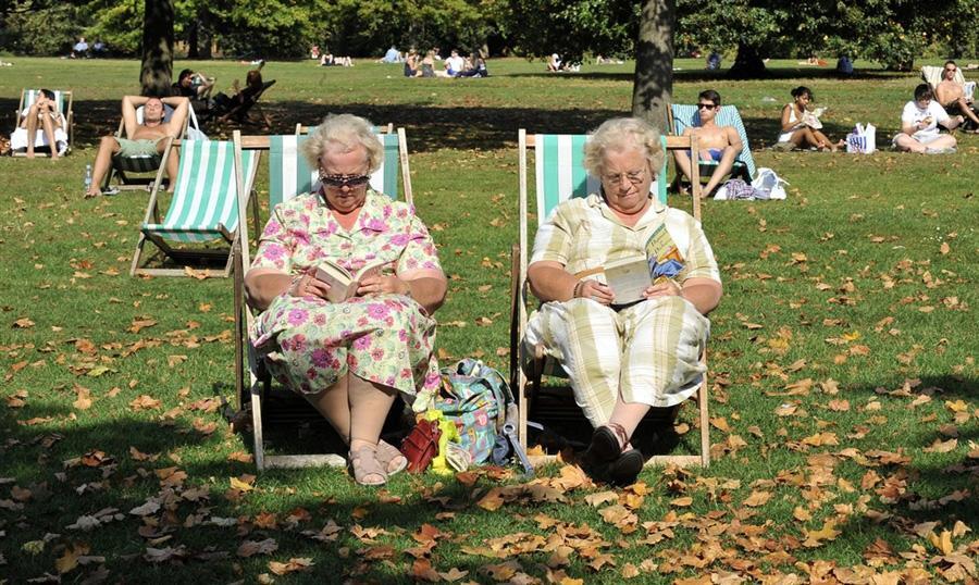 Гайд-парк, Лондон, 1 октября