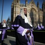 Процессия судей в Парламент, Англия