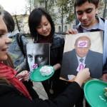 В Москве отметили День рождения Путина