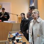 Судья Родион Киреев зачитывает приговор Юлии Тимошенко