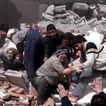 Местные жители спешат на помощь друг другу, рухнуло около 30-ти зданий, восточная Турция, 23 октября