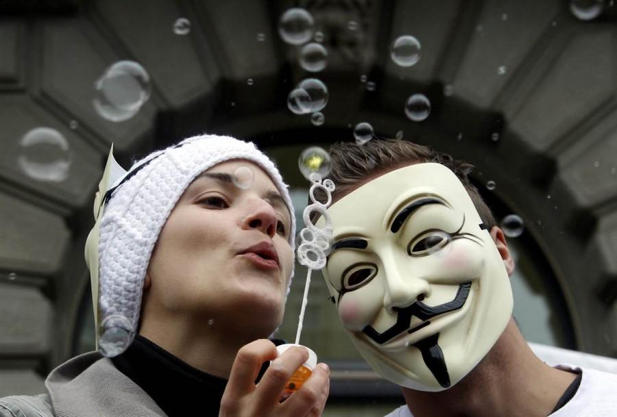 Самая мирная демонстрация в Цюрихе, Швейцария