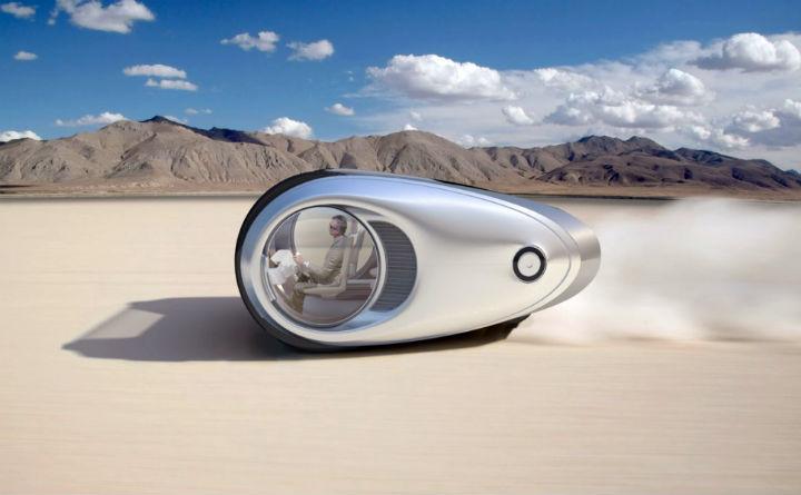 Электо микроавтобус будущего Ecco