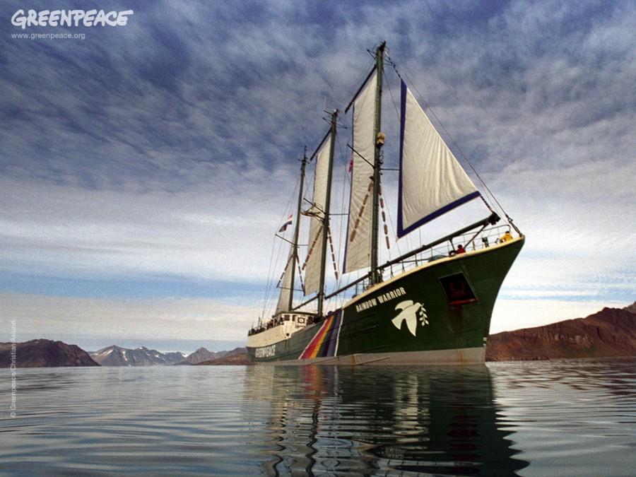 """""""Rainbow Warrior III"""" – новый корабль организации """"Гринпис"""""""