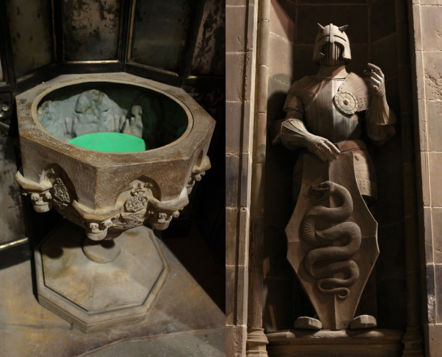 Думосбор и ниша со статуей из Главного зала