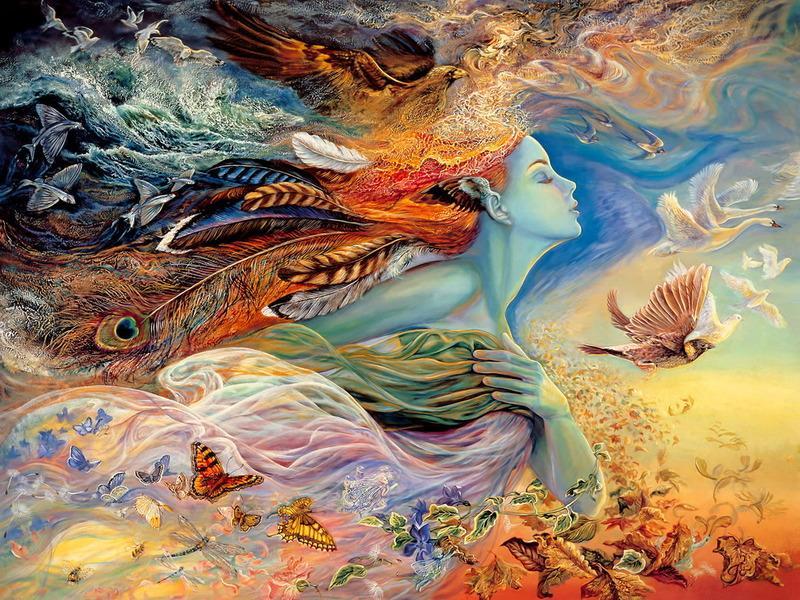 Потусторонние миры Жозефины Уолл