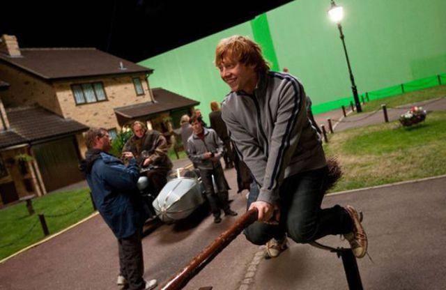 Кадры со съемок фильма