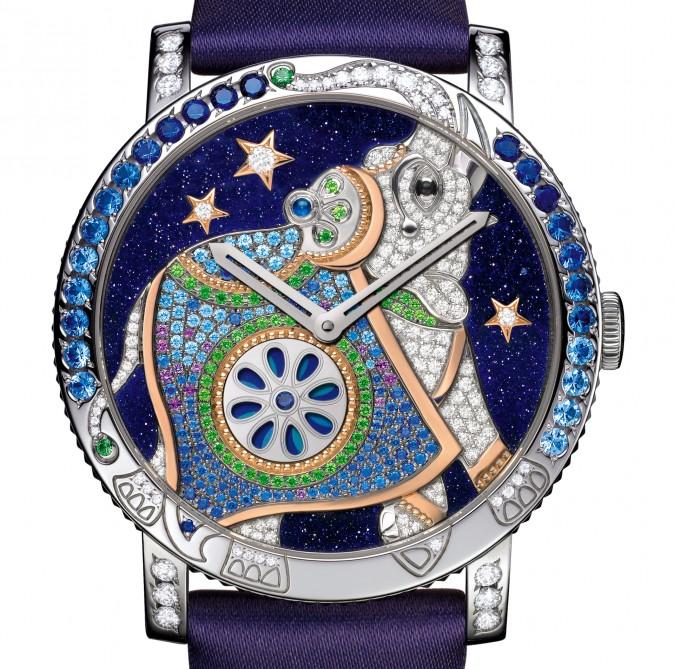 Победитель - женские часы, 73 900 швейцарских франков, Boucheron Хатхи Сумасшедшие Джунгли