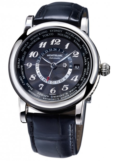 Лучшие часы ниже 5 000 швейцарских франков - Montblanc Star Мировое GMT